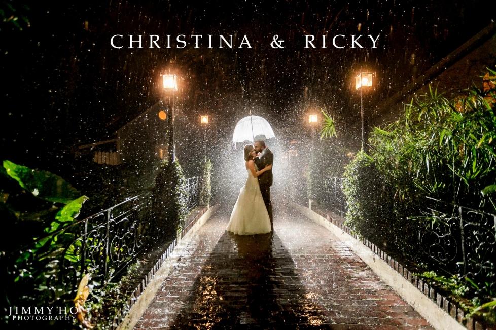 Christina and Ricky Wedding 1
