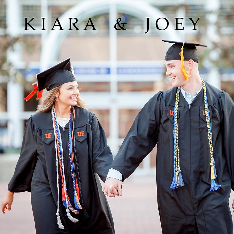 Kiara and Joey – Graduation Portraits / UF Grad Session / UF ...