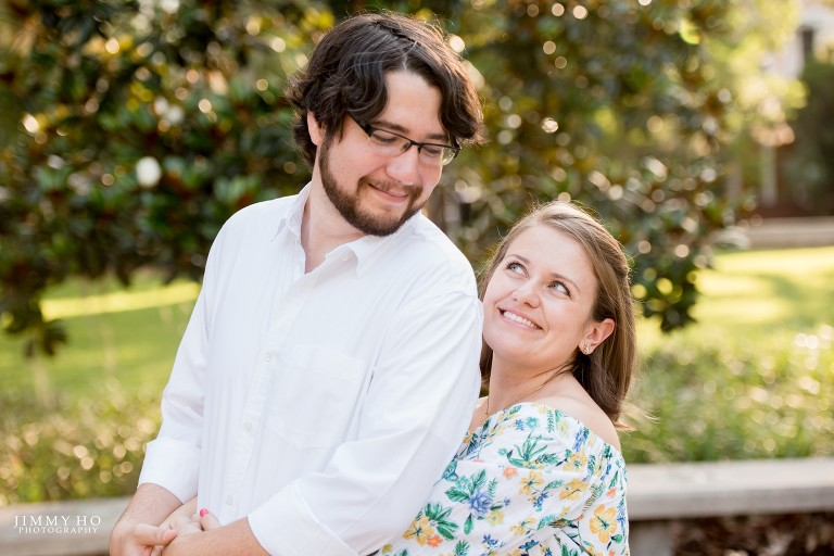 Jillian Thomas: Jillian And Bobby / Thomas Center Engagement Session